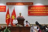 Un vice-président de l'AN inspecte les préparatifs des élections législatives à Tiên Giang