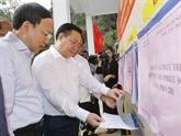 Le président de l'AN contrôle les préparatifs des prochaines élections à Quang Ninh