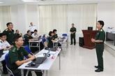 Ouverture d'une formation d'officiers d'état-major de l'ONU