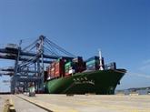 Le port Cái Mép - Thi Vai reçoit un porte-conteneurs en partance vers les États-Unis