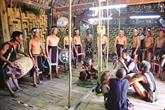 Célébration de la nouvelle nhà rông chez les Bahnar