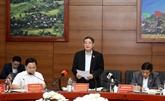 Le vice-président de l'AN, Nguyen Duc Hai, inspecte la préparation des élections