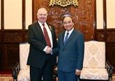 Le président Nguyên Xuân Phuc reçoit l'ambassadeur de Russie à Hanoï