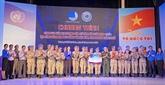Renforcement des échanges entre les jeunes de HCM-Ville et les Casques Bleus vietnamiens