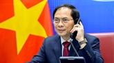 Conversation téléphonique entre Bùi Thanh Son et Wang Yi