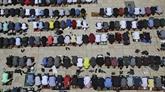 Le plus grand rassemblement sur l'esplanade des Mosquées