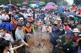 Les temples des rois Hùng accueillent six millions de visiteurs