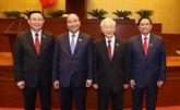 Les nouveaux dirigeants promeuvent le développement du Vietnam