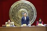 La Commission de la justice doit renforcer son rôle dans les activités de l'AN, selon Vuong Dinh Huê