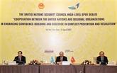 La confiance et le dialogue pour une paix durable