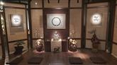 Exposition d'ouvrages du moine bouddhiste zen vietnamien Thich Nhât Hanh