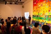 Une exposition artistique en l'honneur des autistes à Hanoï