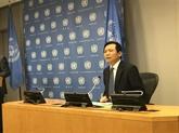 Le Vietnam assume la présidence du Conseil de sécurité de l'ONU