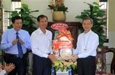 Pâques : félicitations aux catholiques et protestants de Vinh Long