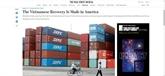 Vietnam : la reprise économique en bonne voie, selon Wall Street Journal
