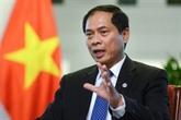 Le nouveau ministre Bùi Thanh Son présente les priorités diplomatiques du Vietnam