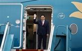 Le PM quitte Hanoï pour la réunion des dirigeants de l'ASEAN à Jakarta