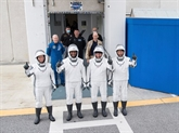 SpaceX emmène quatre astronautes vers la Station spatiale internationale