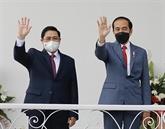 Renforcer la coopération entre le Vietnam et l'Indonésie