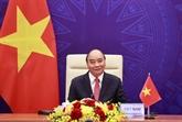 Sommet sur le climat : Nguyên Xuân Phuc prononce un discours