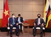 Le Premier ministre vietnamien rencontre le sultan du Brunei