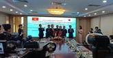 Le Vietnam et le Japon signent une note sur deux projets liés à l'océanographie