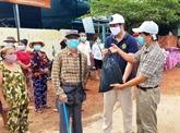 Soutien aux citoyens d'origine vietnamienne à Preah Sihanouk