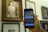 Lancement de l'application iMuseum VFA