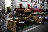 Restauration : la ville de Paris va réglementer davantage les terrasses éphémères