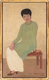 Vente aux enchères : nouveau record pour un tableau d'un peintre vietnamien