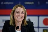 Sonia Bompastor, première femme à prendre place sur le banc de l'OL féminin