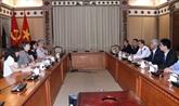 Hô Chi Minh-Ville et l'UNICEF renforcent leur coopération dans la protection et le soin des enfants