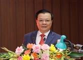 Nouveau secrétaire du Comité municipal du Parti de Hanoï