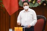 Le PM demande de renforcer la responsabilité personnelle et collective dans la lutte anti-COVID-19