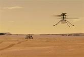 Vol sur Mars : l'hélicoptère Ingenuity est au sol