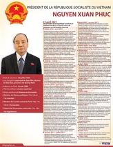 Le nouveau président de la République socialiste du Vietnam, Nguyên Xuân Phuc