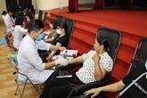 Plus de 350 unités collectées pendant la Journée de don de sang