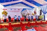 Lancement du projet d'agrandissement de l'école Dinh Thiên Ly