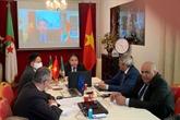 Webinaire pour les liens commerciaux Vietnam - Algérie - Sénégal