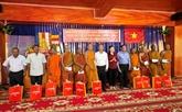 Le Comité central du FPV adresse des vœux aux Khmers d'An Giang