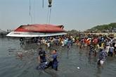 Le bilan du naufrage d'un ferry s'alourdit à 34 morts