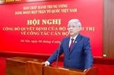 Dô Van Chiên nommé secrétaire du Comité chargé des affaires du Parti au sein du FPV