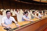 Élection de cinq membres du Comité permanent