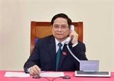 Félicitations du Premier ministre laotien à son homologue vietnamien