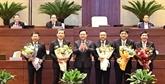 Élection des présidents de Commissions de la XIVelégislature de l'Assemblée nationale