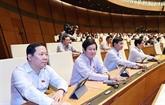 L'AN approuve la relève d'un vice-PM, des ministres et des membres du cabinet