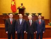 Félicitation adressées aux dirigeants vietnamiens