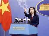 Le Vietnam demande de respecter sa souveraineté sur Hoàng Sa, Truong Sa