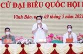 Le président de l'AN à l'écoute des électeurs de Hai Phong