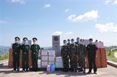 Diên Biên soutient des provinces laotiennes dans la lutte anti-COVID-19